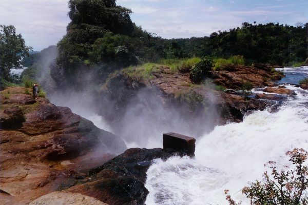 Murchison Falls from above